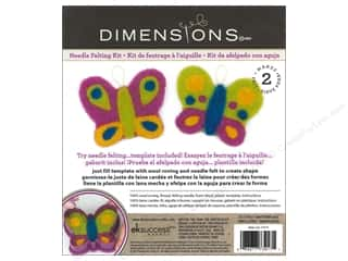 Dimensions Dimensions Needle Felting Kits: Dimensions Needle Felting Kits Cutouts Butterflies