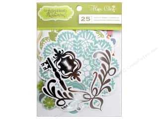 Dads & Grads Embellishments: Blend Die Cut Hope Chest Embellishments