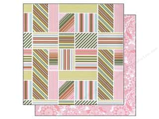 Blend Paper 12 x 12 in. Hope Chest Stripe Soiree (25 piece)