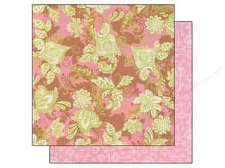 Generations Flowers: Blend Paper 12 x 12 in. Hope Chest Pink Flourish (25 pieces)