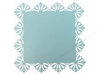 Anna Griffin Blend Die Cuts: Blend Paper 12 x 12 in. Hope Chest Diecut Turquoise (25 pieces)
