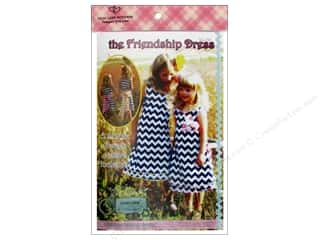 Sew Tea Girls $5 - $6: Lilac Lane The Friendship Dress Size 2T-10 Pattern