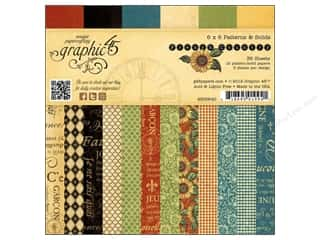 Graphic 45 French Country 6 x 6 in. Paper Pad