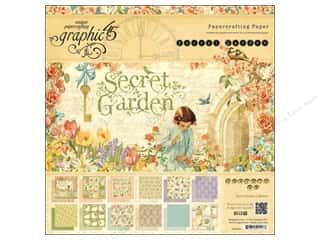 Graphic 45 Secret Garden 12 x 12 in. Paper Pad