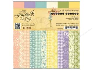 Graphic 45 inches: Graphic 45 Secret Garden Collection 6 x 6 in. Paper Pad