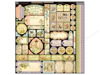 Graphic 45 Stickers Secret Garden