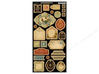 button: Graphic 45 Chipboard Die Cuts French Country 2