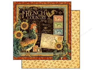 Graphic 45 Paper 12 x 12 in. French Country (25 piece)