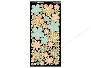 button: Graphic 45 Cardstock Flowers Secret Garden
