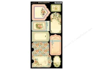 Graphic 45 Cardstock Tags & Pockets Secret Garden