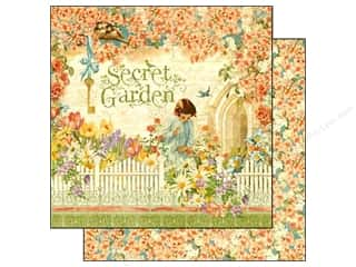 Graphic 45 Paper 12 x 12 in. Secret Garden (25 piece)