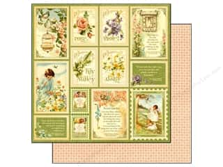 Graphic 45 Paper 12 x 12 in. Secret Garden Springtime (25 piece)