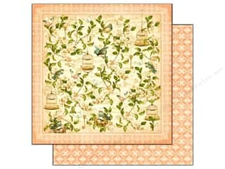 Graphic 45 Paper 12 x 12 in. Secret Garden Leafy Treetps (25 piece)