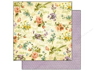 Graphic 45 Paper 12 x 12 in. Secret Garden Beautifl Blms (25 piece)