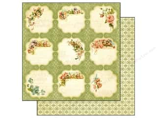 Graphic 45 Paper 12 x 12 in. Secret Garden Meadow Lark (25 piece)