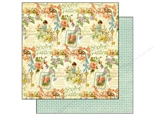 Graphic 45 Paper 12 x 12 in. Secret Garden Posy Patch (25 piece)