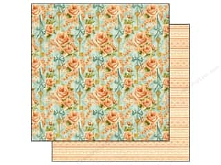 Graphic 45 Paper 12 x 12 in. Secret Garden Coming Roses (25 piece)