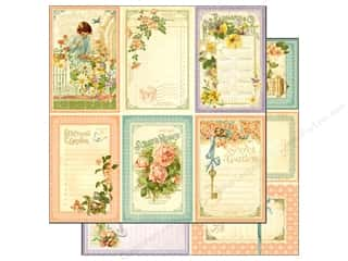 Graphic 45 Paper 12 x 12 in. Secret Garden May Flowers (25 piece)
