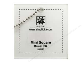 EZ Quilting Mini Acrylic Templates: EZ Quilting Mini Square 2 1/2 in. Acrylic Template