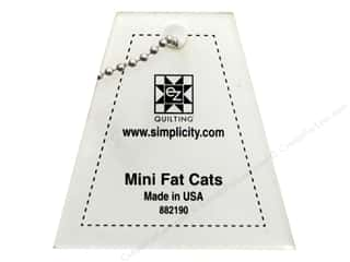 EZ Quilting Mini Acrylic Templates: EZ Quilting Mini Fat Cats Acrylic Template
