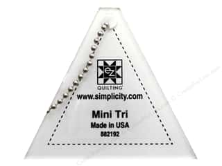 EZ Quilting Mini Acrylic Templates: EZ Quilting Mini Tri Acrylic Template