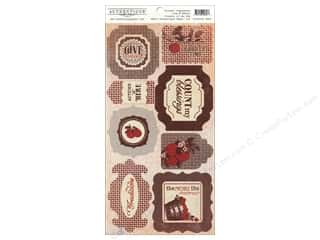 Authentique Sticker Seasons Autumn 6 x 12 Components (12 set)