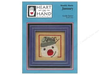 Heart To Hand: Heart In Hand Monthly Mania January Pattern by Cecila Turner