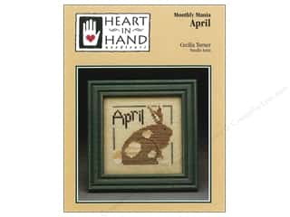 Hearts Art To Heart: Heart In Hand Monthly Mania April Pattern by Cecilia Turner