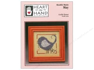 Heart To Hand: Heart In Hand Monthly Mania May Pattern by Cecilia Turner