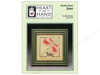 Heart To Hand: Heart In Hand Monthly Mania June Pattern by Cecilia Turner