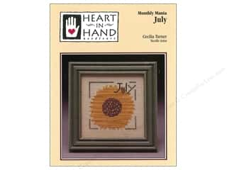 Heart To Hand: Heart In Hand Monthly Mania July Pattern by Cecilia Turner