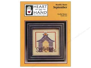 Heart In Hand: Heart In Hand Monthly Mania September Pattern by Cecila Turner