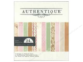 Authentique 6 x 6 in. Paper Bundle Cherish 24 pc.