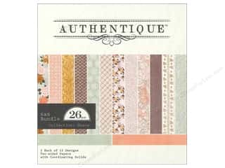 Authentique 6 x 6 in. Paper Bundle Grace 26 pc.