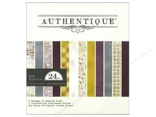 Authentique 6 x 6 in. Paper Bundle Remembrance 24 pc.