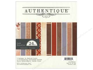 Authentique Paper Bundle 6 x 6 in. Seasons Autumn 24pc