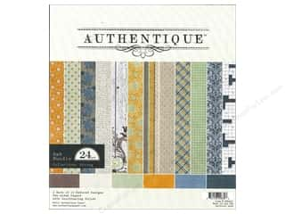 Clearance Blumenthal Favorite Findings: Authentique Paper Bundle 8 x 8 in. Strong 24 pc.