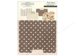 Authentique Paper Die Cuts / Paper Shapes: Authentique Die Cuts Grace Petite Folders 4 pc.