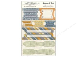 Clearance Blumenthal Favorite Findings: Authentique Die Cuts Strong Hinges And Tabs (12 set)