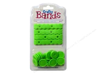 Jewelry Making Supplies Epiphany Accessories: Epiphany Accessories Crafty Bands Refill Lime