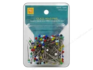 EZ Quilting Glass Head Pins 1 1/4 in. 150pc
