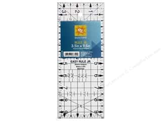 EZ Notions: EZ Quilting Easy Rule Jr. Acrylic Ruler 9 1/2 x 3 1/2 in.