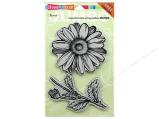 Stampendous Cling Jumbo Daisy Rubber Stamp