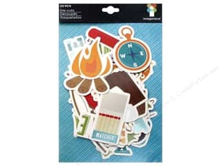 More for Less Sale: Imaginisce Die Cut Outdoor Adventure Gone Camping