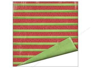 Imaginisce Paper 12x12 Endless Summer Watermelon (25 piece)
