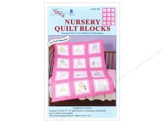 Jack Dempsey Nursery Quilt Block 12pc Sunbonnet Babies
