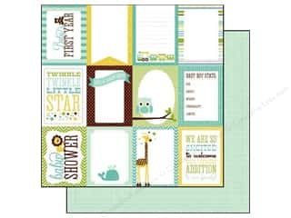 Echo Park Paper 12x12 Bundle/Joy Boy Journ Card (25 piece)