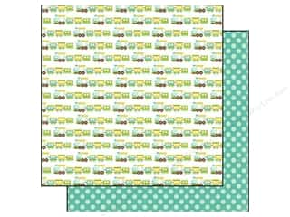 Echo Park Paper Company: Echo Park 12 x 12 in. Paper Bundle of Joy Boy Collection Choo Choo Train (25 pieces)
