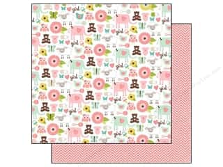 Echo Park 12 x 12 in. Paper Bundle Of Joy It's A Girl! (25 piece)