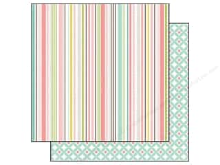 Echo Park 12 x 12 in. Paper Bundle Of Joy Sweet Stripe (25 piece)
